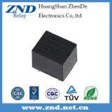 3FF (T73) 7A 12V 힘 릴레이 검정 덮개 전자기 릴레이