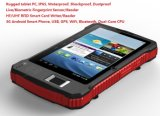 PC robusto di Android Fingerprint Reader Tablet con Barcode Scanner