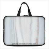 Marmornotizbuch-Hülse 15 15.6 17 17.3 Zoll-Laptop-Beutel-Kasten für MacBook Luft-PROkasten