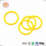 シリンダーのための黄色いガスの不浸透性の抵抗NBRのゴム製Oリング