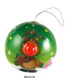 크리스마스 선물 깜박거리기 코 공 (B91618)