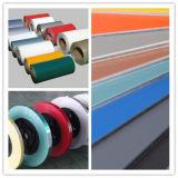 De kleur Met een laag bedekte Structuur van de Grondwet van de Rol van het Aluminium