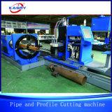 Toda la línea cortador de la intersección de la cortadora del cartabón del tubo de acero