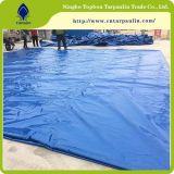 Bâche de nylon enduit de PVC pour le camion TO017