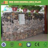 Muro de gabião retenção, soldados Stone Gabião Box