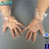 Гладкие и тисненые одноразовые перчатки PE с FDA сертифицированных