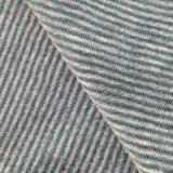 El cáñamo / algodón hilados de distintos colores a rayas Jersey (QF14-1462)