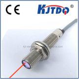 M12 Fibra óptica Infrared Sensor de difusão fotocélula Sensor PNP NPN