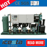 R22, R404A Refrigerant, Cold Storage 의 Freezer 룸을%s Bitzer Compressor Racks Air Cooledcondensing Units