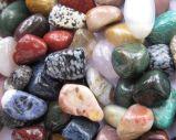 O sortido voltada a pedra, a Pedra Semprecious Gemstone