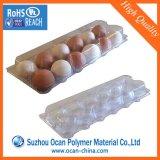 250 미크론 계란 쟁반 또는 콘테이너를 만들기를 위한 명확한 PVC 롤