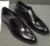 Mens конструкции Италии одевают кожаный ботинки Оксфорд