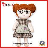 En71 주문품 만화 소녀 아기에 의하여 채워지는 장난감 견면 벨벳 봉제 인형