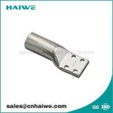 Aletta tubolare di piegatura del cavo del connettore di rame di compressione dei fori di BACCANO quattro