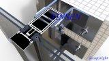 Paroi de rideau en verre extérieur en aluminium pour immeubles commerciaux et résidentiels (offrez le service d'installation si nécessaire)