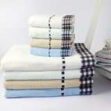 浴室のための高品質の綿2のセットの超柔らかいタオル