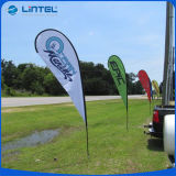 Im Freien Strand-Markierungsfahnen-fördernde Markierungsfahne Pole (LT-17C)