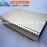Vitre coulissante de pièces de châssis en aluminium profilé en aluminium