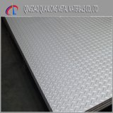 placa Checkered inoxidável gravada laminada a alta temperatura de 310S 316ti
