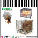 Recipiente de gaiola de malha de arame para armazenamento