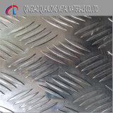 ダイヤモンドパターンチェック模様のアルミニウムシート