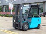 Piccolo carrello elevatore elettrico caldo di vendita 2500kg, camion di pallet elettrico