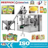 회전하는 분말 주머니 패킹 가루 향미료 설탕 Doypack 채우는 포장 기계