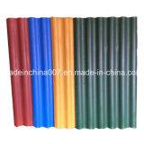 De geschilderde Tegel van het Dakwerk van het Cement van de Vezel van de Kleur Grote zes Gekleurde