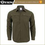 Chemise à manches longues à coupe rapide Esdy respirante pour extérieur