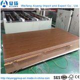 Grãos de madeira diante do papel de melamina mobiliário interior de MDF