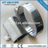 Calefactor de banda de mica con reborde de brida