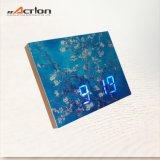 DIY에 의하여 주문을 받아서 만들어지는 패턴 MDF 액자 LED 시계