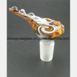 Farben-Vogel-GlasHuka-Rohrfitting-Filter-Tabak-Wiederverwertung