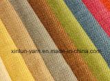 O rebanho projeta a tela do sofá do poliéster da cópia para o coxim