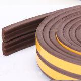 Striscia adesiva della guarnizione della gomma di gomma piuma di E-Figura EPDM per il portello di legno