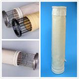 Filtro a sacco Mixed del poliestere della vetroresina per la pianta del cemento