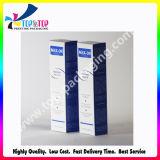 precio de fábrica de plegado de papel recubierto de cosméticos de la caja de embalaje de jeringa