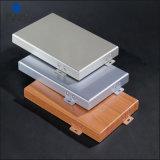 2mm en aluminium de couleur métallique Champange architecte Revêtement mural en aluminium