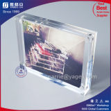 2017 Custom Acrylic 2 Side Picture Photo Frame