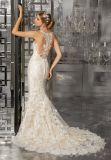 Robes de mariage de robe nuptiale de lacet de sirène (8173)