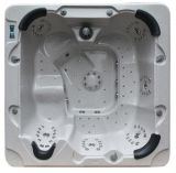 Monalisaの熱い販売の6人の屋外の鉱泉の温水浴槽(M-3321A)