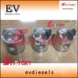 6D16T 6D22T 6D24T 6D14t anillos de pistón camisa del cilindro Kit para las piezas del motor Mitsubishi