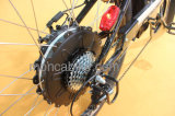 """熱い販売の電気自転車28の""""タイヤの黒いEバイクの市道のトーナメントEの自転車350WモーターShimano"""