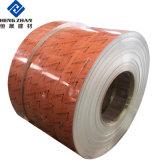 PVDF/PE Revêtement de couleur/peinture/Bande de la bobine en aluminium à la norme ISO pour la construction de matériel d'application