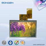4.3 écran 50pin RVB de TFT LCD d'intense luminosité de l'écran tactile de pouce 480X272