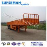 de madera 60t/de contenedores del transporte del cargo acoplado del carro semi