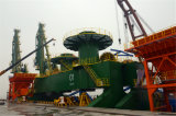 Bewegliches 2000 Ton/H konzipierte Lieferungs-Ladevorrichtung mit SGS