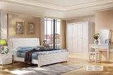 現代純木の寝室の家具の組