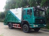 HOWO 4X2 10m3 kleiner Abfall-LKW-Verdichtungsgerät-Abfall-LKW-Preis