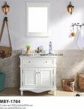 Ensemble de toilette en bois en bois simple de 31 po en blanc